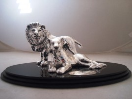 Lion and Lioness created for an anniversary gift