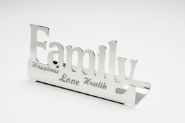 OBG014- Silver plated candlestick family